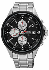 Seiko Stainless Steel Strap Wristwatches with Chronograph