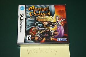 Mystery Dungeon: Shiren the Wanderer (Nintendo DS) NEW SEALED Y-FOLD MINT, RARE!
