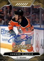 2019-20 Upper Deck MVP Autograph #209 Connor McDavid AUTO Edmonton Oilers