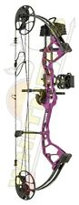 Fred Bear Archery Royale Bow with RTH Package in Purple - Left Hand/LH