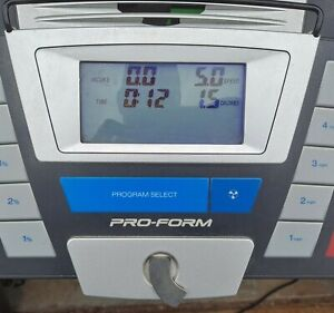 ProForm 840 Commercial Control Panel Excellent Pre-owned Condition Tested
