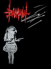 BAHAMUT CONCERT T SHIRT Prog Metal Progressive Rock Terry Peake Bird Girl Guns S