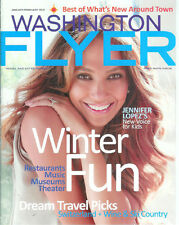 JENNIFER LOPEZ cover/article/photos  2011 Washington Flyer magazine