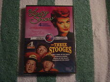 The Lucy Show/The Three Stooges (DVD) Double Features, 4 episodes each, NEW
