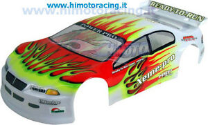 01019 Bodywork Road 1:10 Adhesives Spoiler Body Stichers on-Road HIMOTO