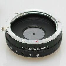 Build in Aperture For Canon EOS EF Lens to Micro 4/3 M4/3 Mount Adapter