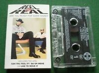 Reel 2 Real Are You Ready For Some More Cassette Tape Single - TESTED