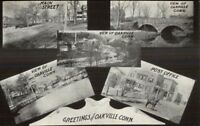 Oakville CT Multi-View c1910 Postcard jrf