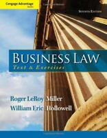 Business Law Text And Exercises - by Miller