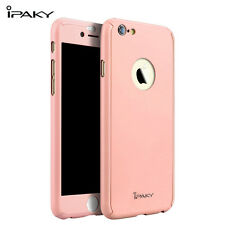 Iphone 6 6S Silicon Case Cover with PC surround Rose Gold