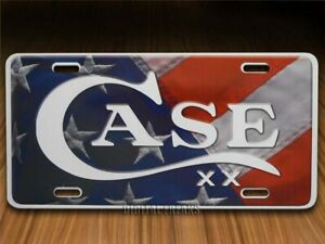 Case xx Knives USA Flag Aluminum License Plate 50128