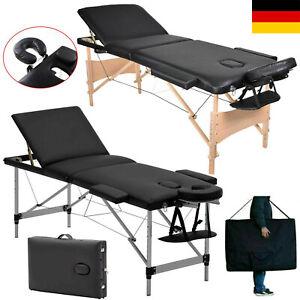 Massagebank Massageliege Massagetisch Klappbar Massagebett Tattoostuhl + Tasche