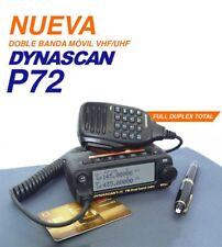 EMISORA DOBLE BANDA DYNASCAN P-72    - TRANSCEPTOR VHF UHF