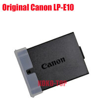 Genuine original Canon LP-E10 Battery for Canon REBEL T3 T5 T6 1100D 1200D 1300D
