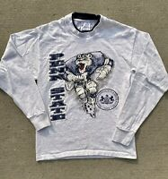 Vintage 90s Penn State Nittany Lions Football Graphic Long Sleeve Shirt
