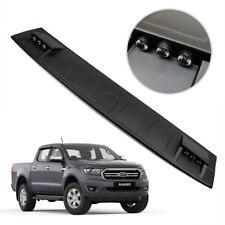 For Ford Ranger XLT Wildtrak 2018 19 Front Roof Spoiler LED Cover Matte Black