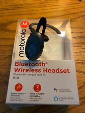 Motorola Bluetooth Mono H725 Headset with Alexa - Black