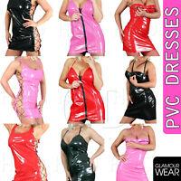 UK MADE Glamour PVC//vinyle basques Corsets Burl Bretelles 8 10 12 14 16 Lingerie