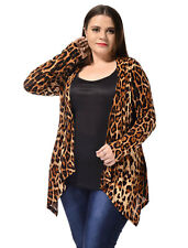 Polyester Leopard Coats & Jackets for Women