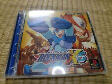 Rockman X5 Magaman x5 PS1 Sony PlayStation 1 Tested Work