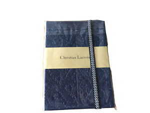 Christian Lacroix A6 Navy Paeso 152 Ruled Page Notebook