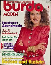 Burda Moden 11.1989