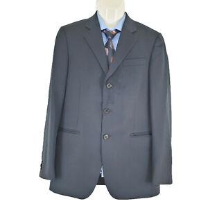 PRADA Milano Mens Sport Coat Blazer Jacket Navy Blue Wool Sz EU 48R   AU38R SP85
