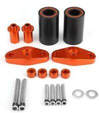Orange Frame Sliders Crash Pads Protector For KTM DUKE 125 200 390 2012 - 2015