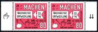 3525 postfrisch Paar waagerecht mit Rändern BRD Bund Deutschland Jahrgang 2020