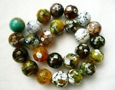 Round Agate Craft Beads
