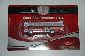 Werbetruck Teambus Allemagne Football Coupe Du Monde 1974 Coca-Cola 6