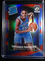 2017-18 Donruss Optic #180 Terrance Ferguson Red Prizm Rated Rookie Card 73/99