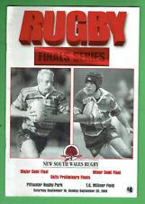 #Kk. Rugby Union Program - 20/9 1998, Eastern Suburbs V Northern Suburbs