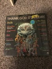 "Thank God It's Friday Soundtrack 2LPs w/ bonus 12"" single Motown In Shrink"