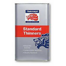 4 x Tetrosyl Standard Cellulose Thinners 5L