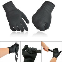1 Pair Cut Metal Mesh Butcher Anti-cutting Breathable Hand Work Safety Gloves