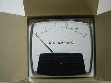 YOKOGAWA 250424ECLS DC Panel Ammeter 0-5A