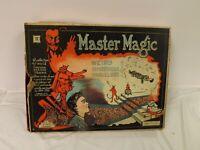 VERY RARE VIntage Master Magic Set Game DEVIL MYSTERIOUS SHERMS Original Box