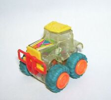 Vintage Toy Clear Plastic Tractor showing gear Workings