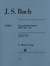 Henle Urtext Bach French Suites BWV 812-817