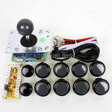 Seimitsu LS-32-02 joystick + 8 Sanwa OBSF-30 Buttons For Arcade DIY PC Game Mame