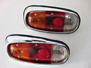 """With for MAZDA 1000 1200 PICK UP TRUCK REAR TAILLIGHT SET """"2 PCS""""  (si182)"""