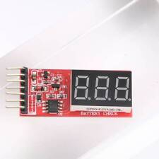 RC Lipo Battery Low Voltage Alarm 2S-6S Buzzer Indicator Checker Tester LED X