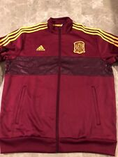 Adidas Spain 2018 World Cup Track Jacket Size Xl
