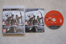 Ultimate Acción Triple Pack causa justificada 2 Saco De Perros Tomb Raider PS3 Juegos