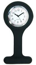 Enfermera Reloj Moda Silicona Broche Túnica de Bolsillo (Control Infecciones)