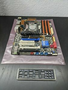 ASUS P6TD Deluxe ATX Motherboard w/ i7-920 (LGA 1366) - TESTED, READ