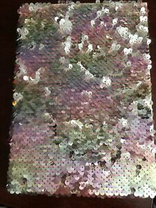 Novelty A5 Reverse Sequins Sequinned Notebook - Paperchase - BNew Teacher Gift