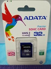 ADATA Premier SDHC 32GB UHS-I Class 4 Memory Flash Card-ASDH32GUICL10-R