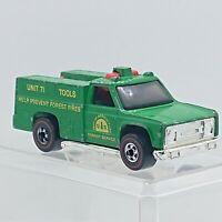 1975 Hot Wheels Ranger Rig Green Redline Hong Kong hw1116